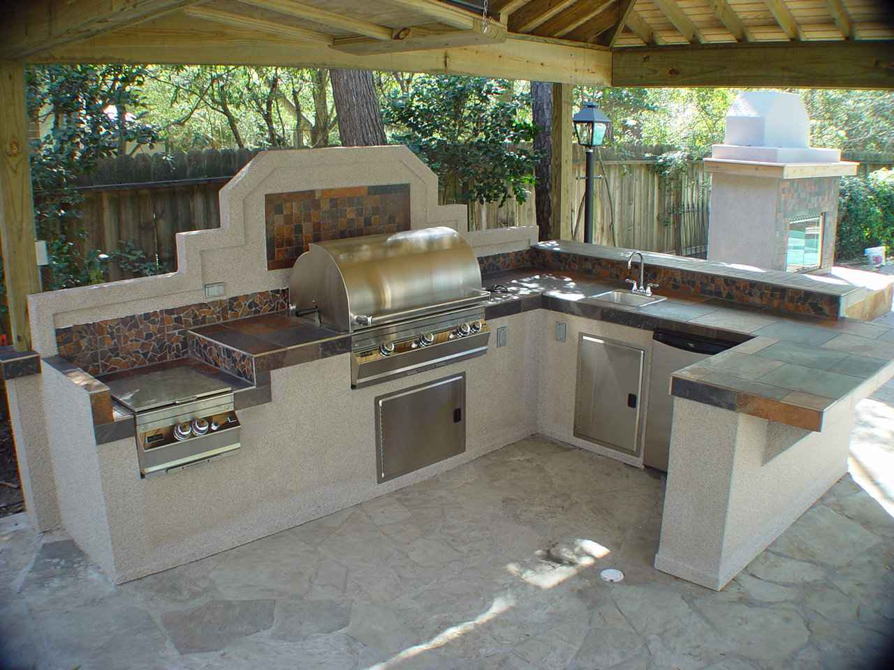 Outdoor Kitchens Kitchen