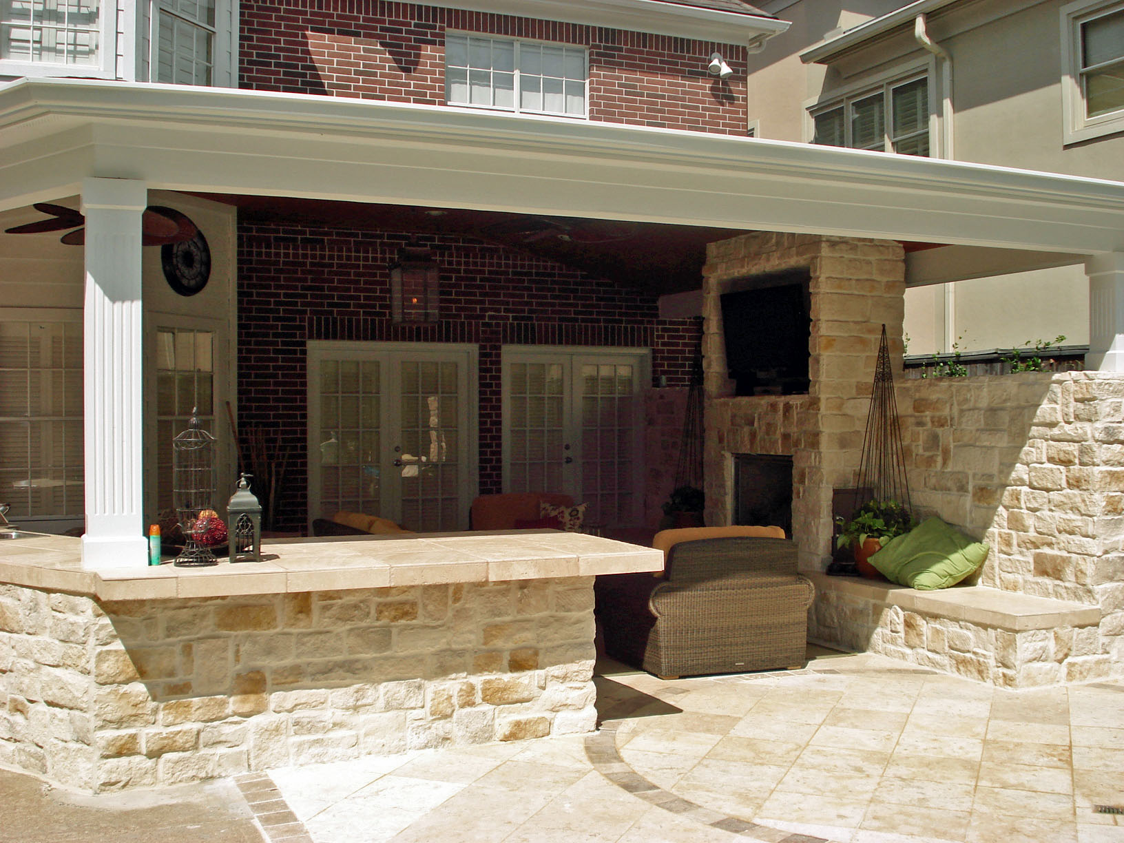 Google image result for for Covered outdoor kitchen plans